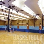 [MS1000] 12mm Elektrik Motorlu Tavana Katlanır Basketbol Potası
