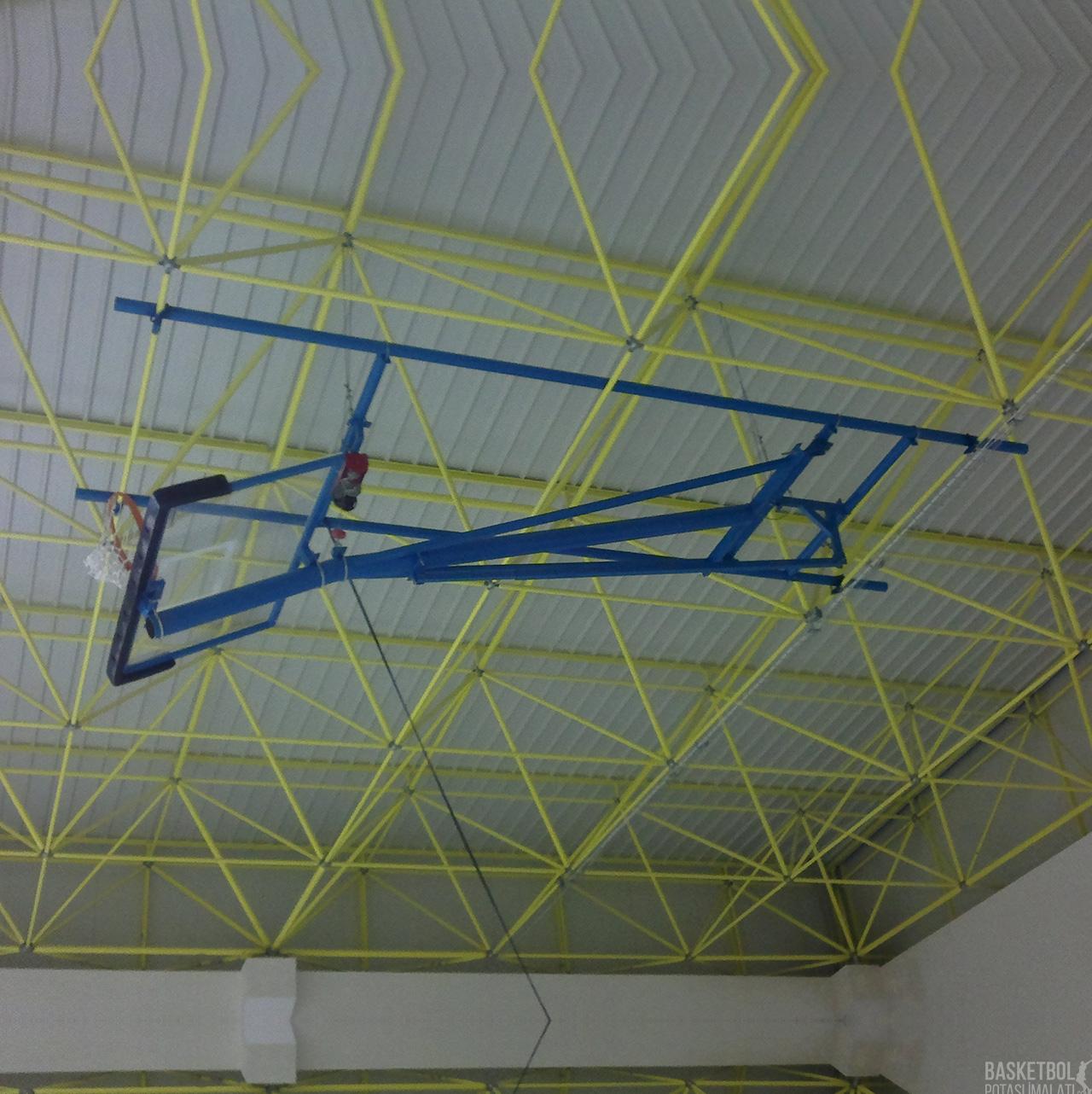 [MS1006] 15mm Elektrik Motorlu Tavana Katlanır Basketbol Potası
