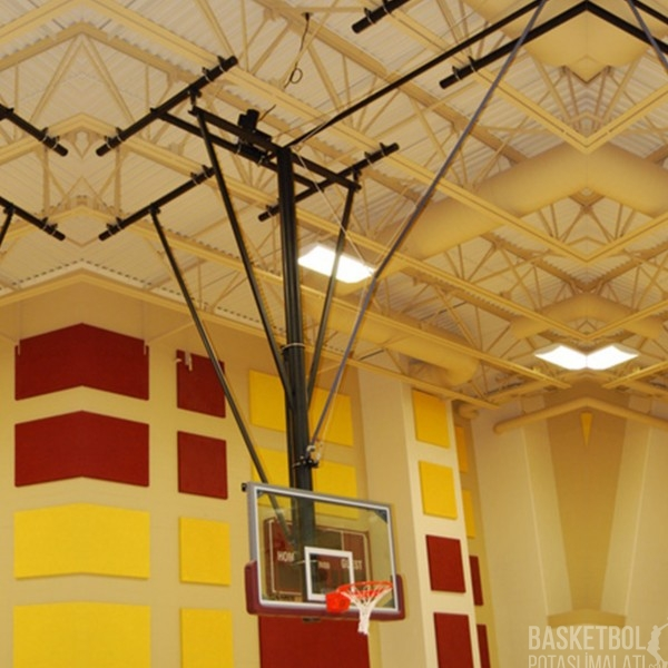 [MS1008] 10mm Tamperli Class Camlı Elektrik Motorlu Basketbol Potası