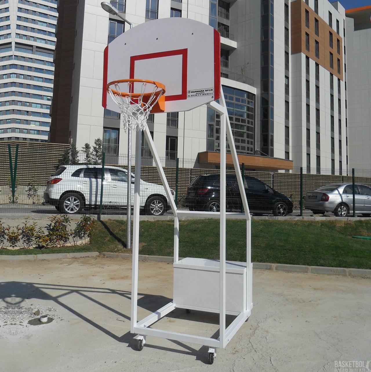 [MS612] Dört Ayaklı Seyyar USA Panyalı Basketbol Potası