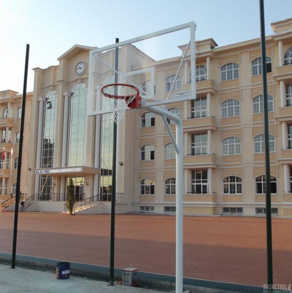 [MS104] 12mm Akrilik Cam Panyalı Basketbol Potası