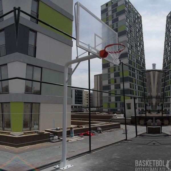 [MS106] 15mm Akrilik Cam Panyalı Basketbol Potası
