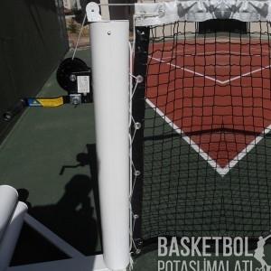 [TN101] Alüminyum İthal Krikolu Tenis Direği